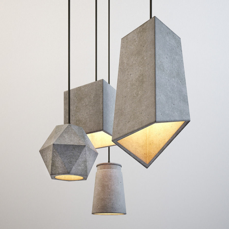 Wonderful Concrete Lamps That Will Catch Your Eye