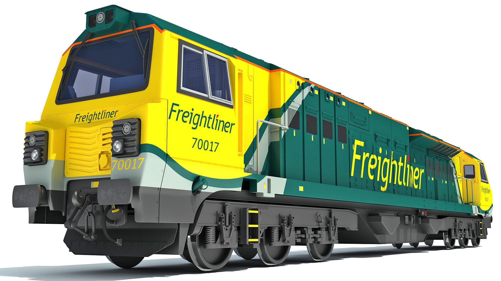 British Rail Class 70 PowerHaul Locomotive