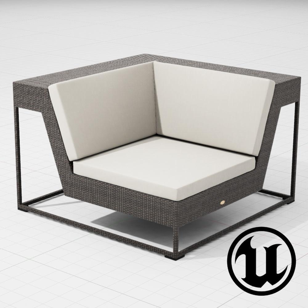 Dedon Zofa Chair 003 UE4
