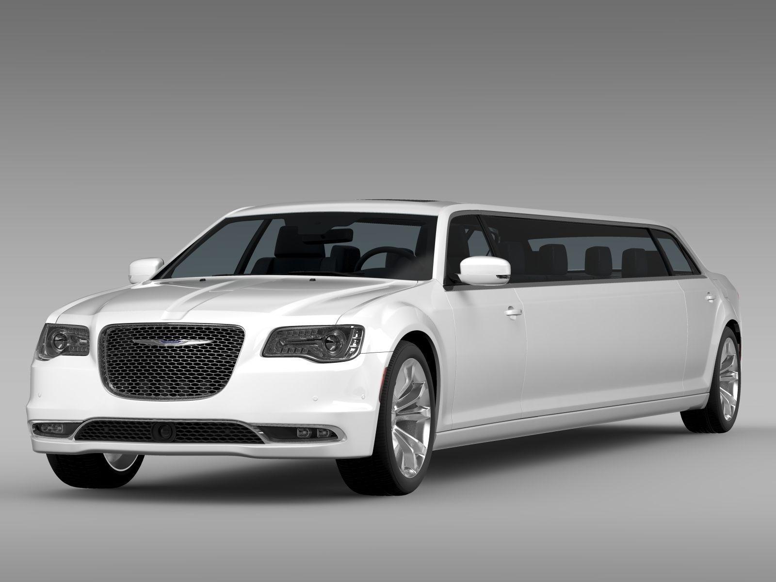 chrysler 300c platinum limousine lx2 2016 3d model max obj 3ds c4d lwo lw lws ma mb. Black Bedroom Furniture Sets. Home Design Ideas