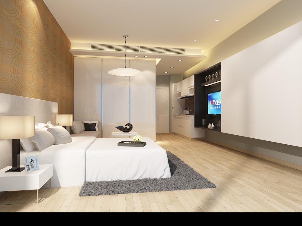 Light Bed Room 3d Model 3d Model Max