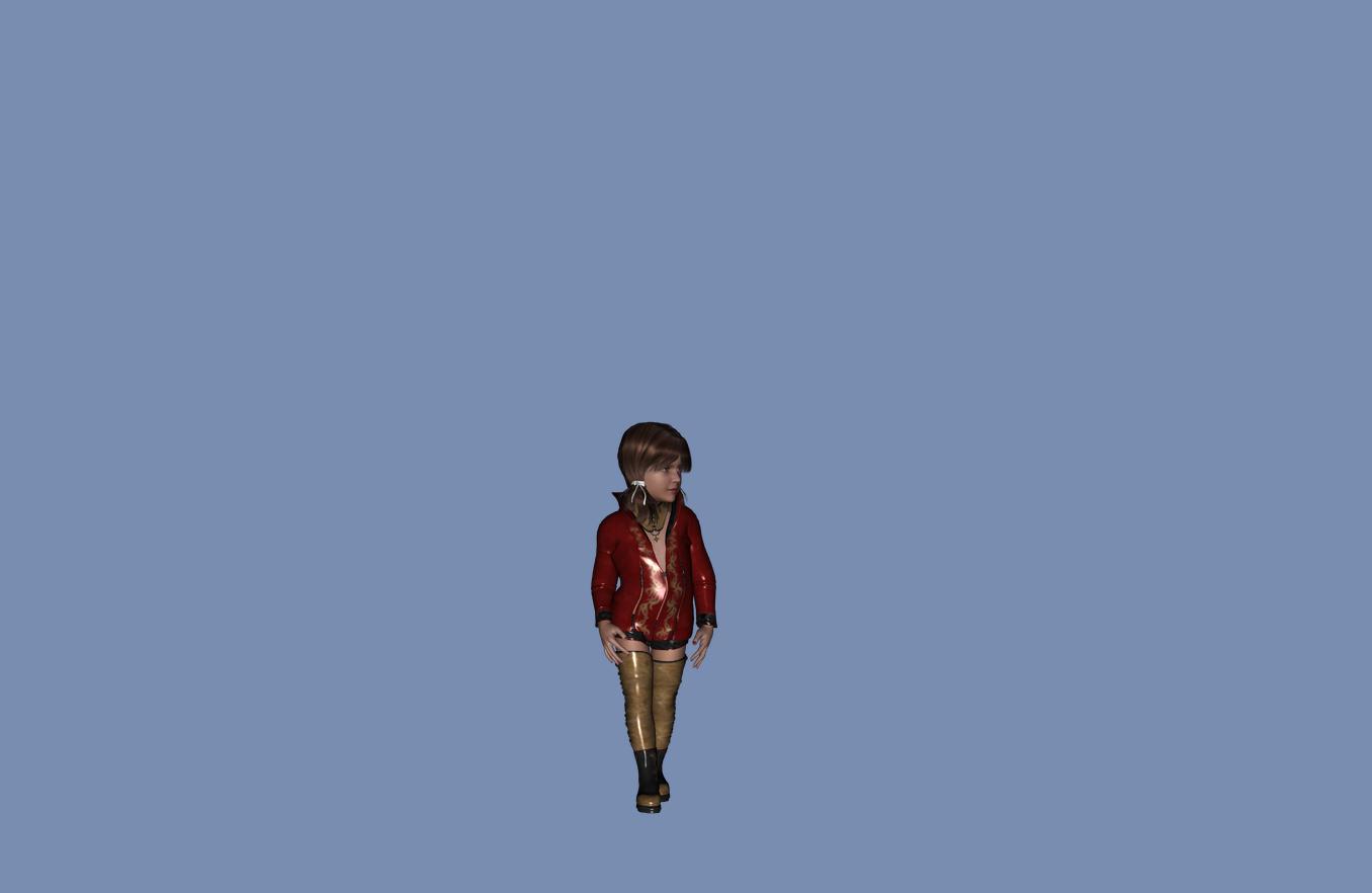 Free 3D Model Girl Child