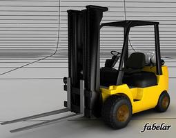 Fork lift 3D Model