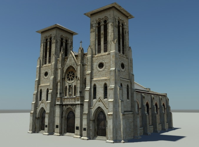 Cathedral3D model