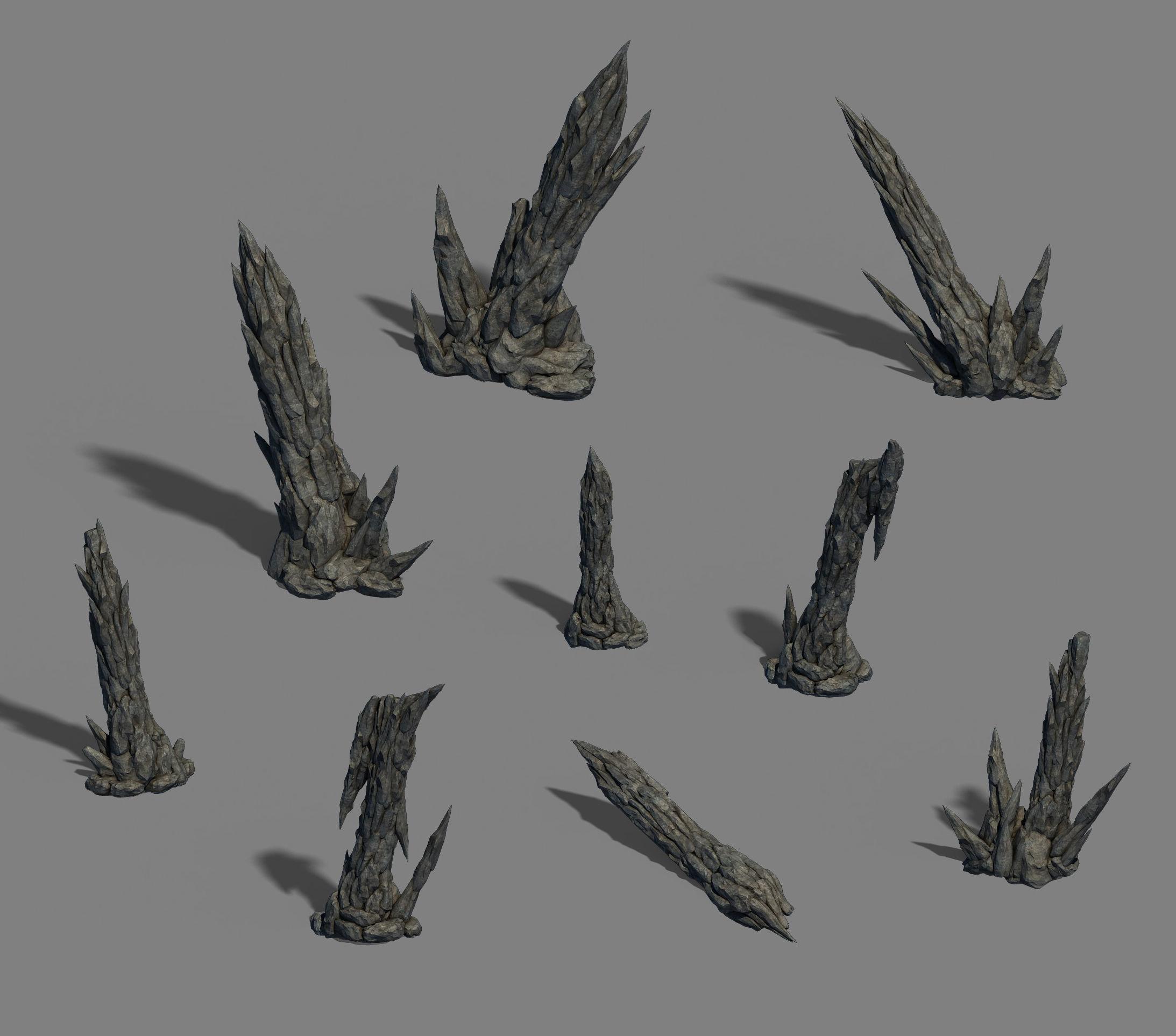 Zhaoshan - stone stone teeth