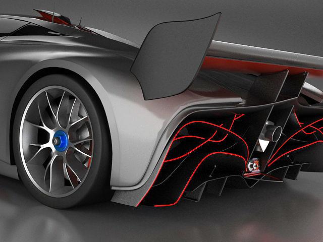 mazda furai interior. mazda furai standard mat 3d model max obj fbx lwo lw lws 9 interior