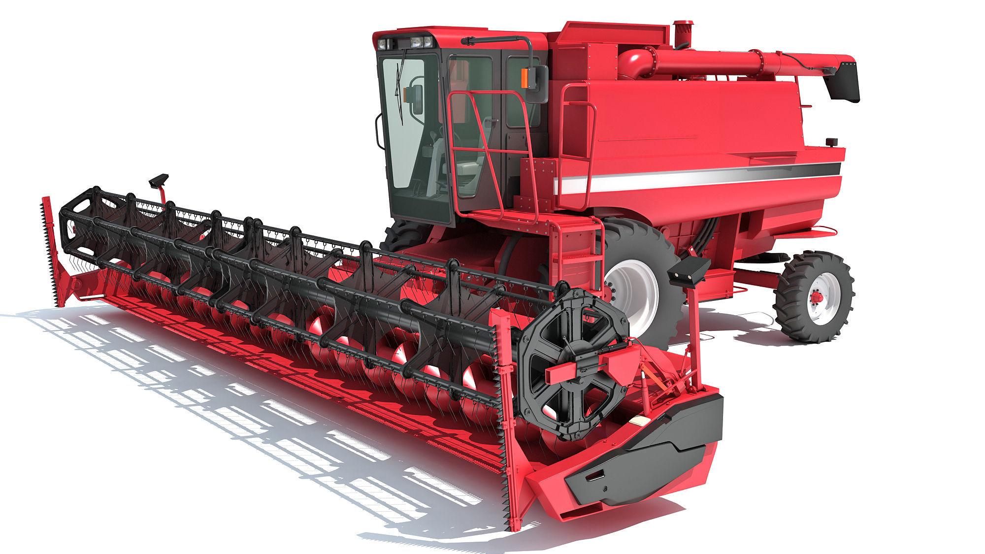 Harvester 3D Models