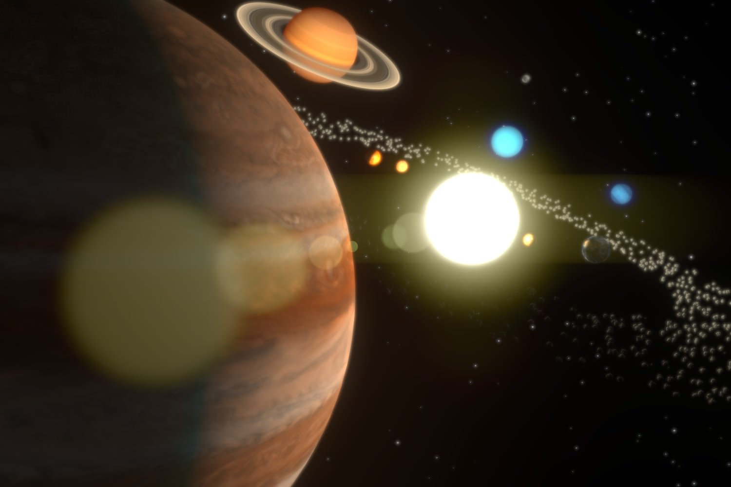 solar system of 3 d - photo #45