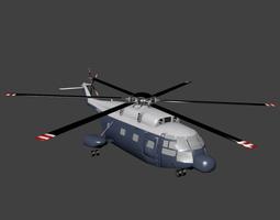 3D model Aerospatiale SA 321 Super Frelon