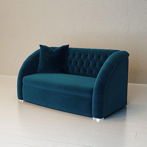 Round Sofa Model Max Obj Mtl Mat 1