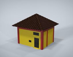 House 3D model realtime house
