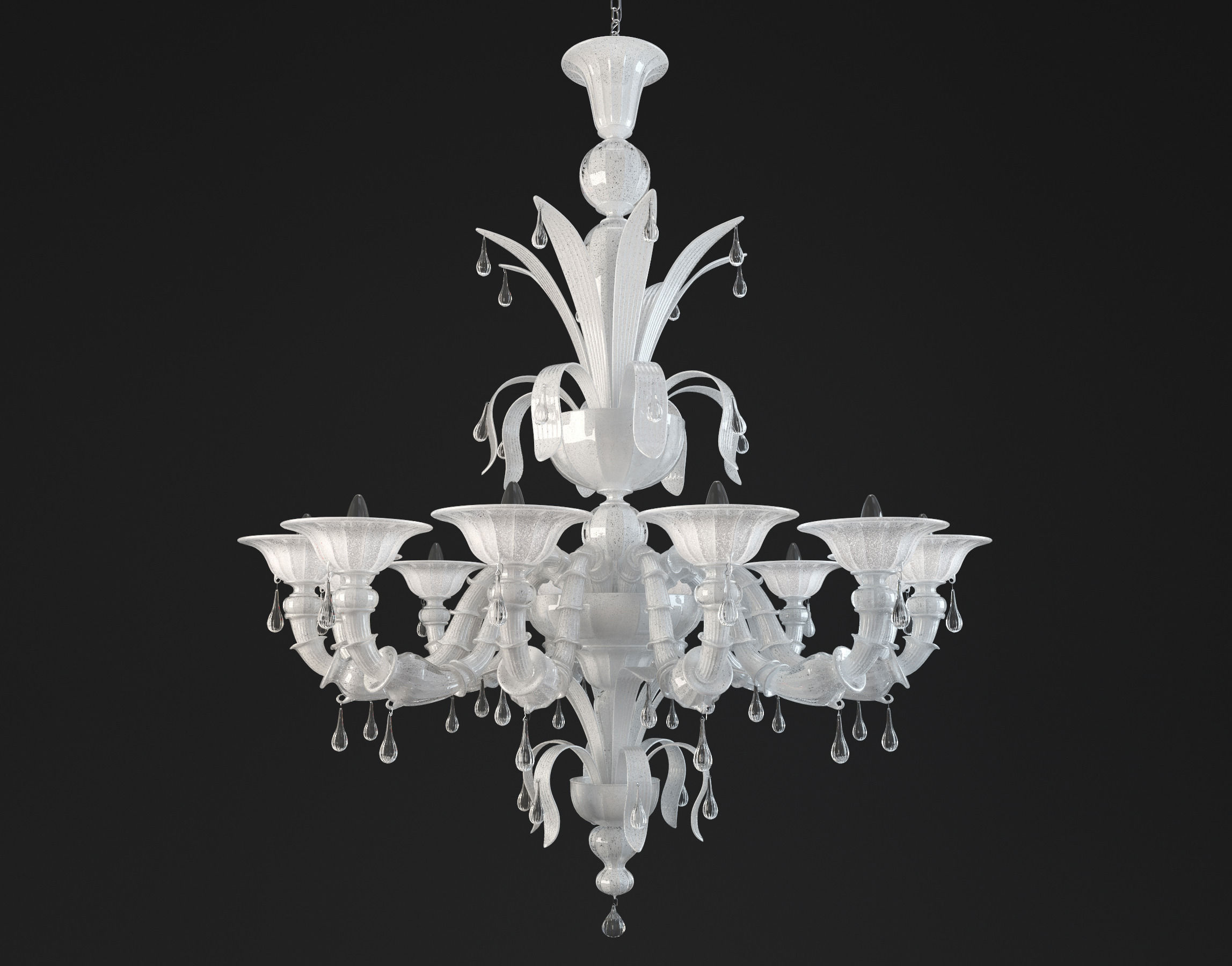 Paradiso white murano glass chandelier 3d model cgtrader paradiso white murano glass chandelier 3d model max obj mtl 1 mozeypictures Gallery