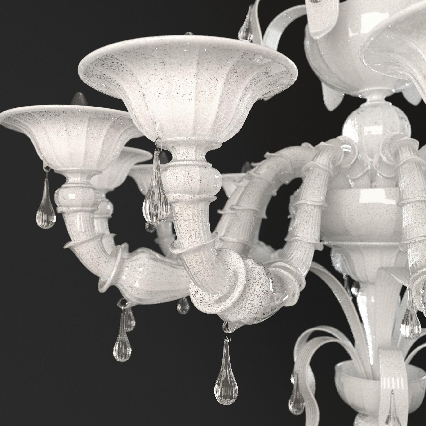 Paradiso white murano glass chandelier 3d model cgtrader paradiso white murano glass chandelier 3d model max obj mtl 3 aloadofball Choice Image