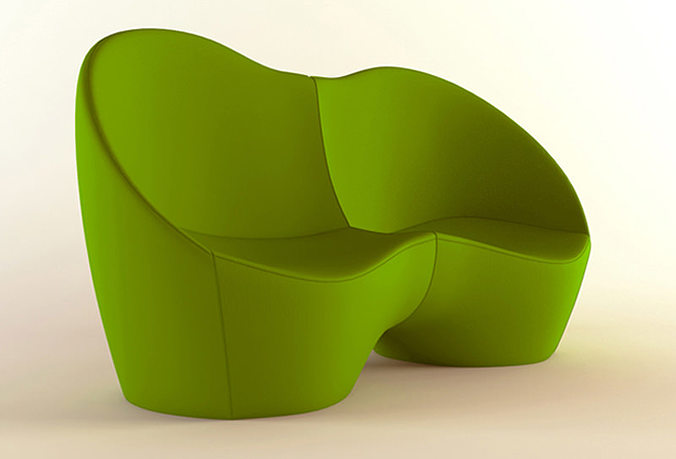 3d model sofa couch ouch karim rashid casamania by frezza - Casamania by frezza ...