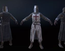 3D model Knight Crusader