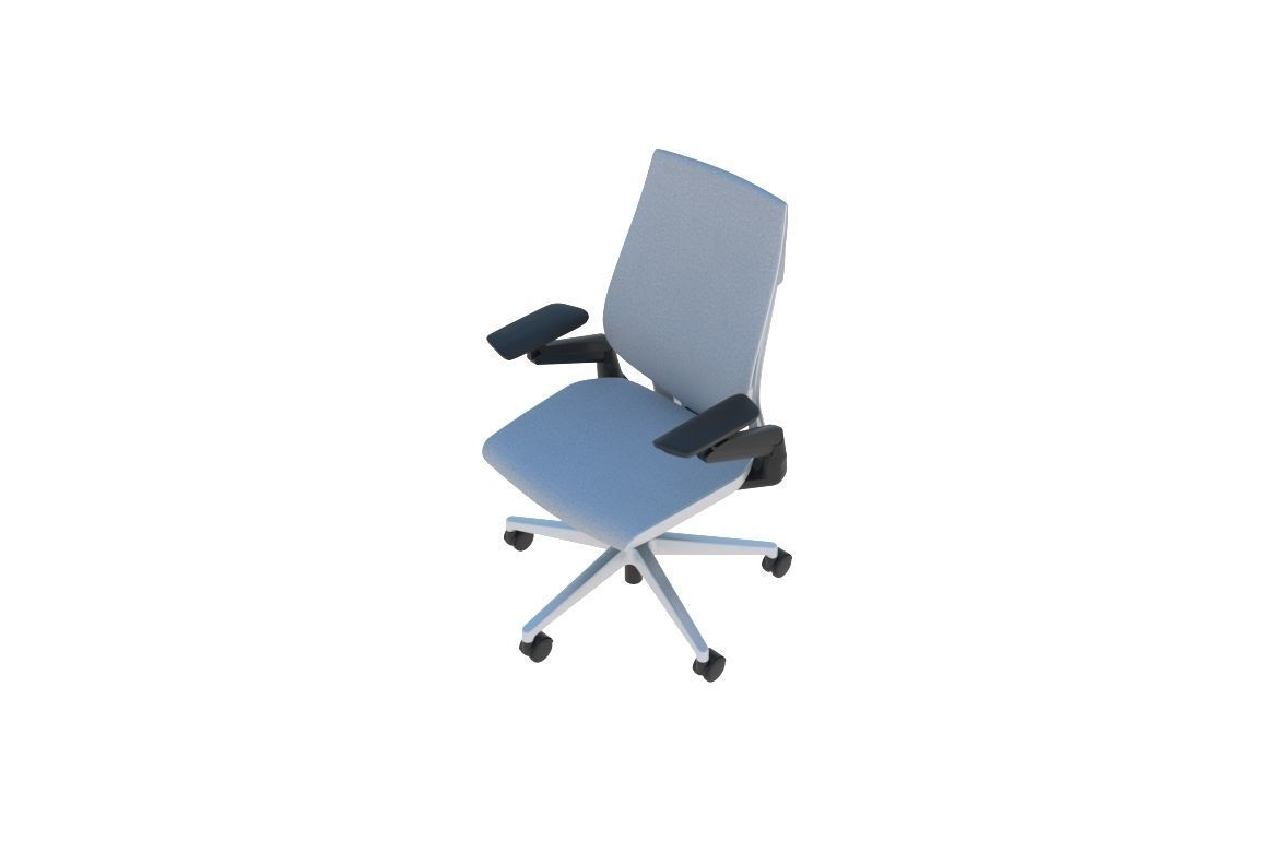 Steelcase Gesture Operational Office Desk Chair  47D model