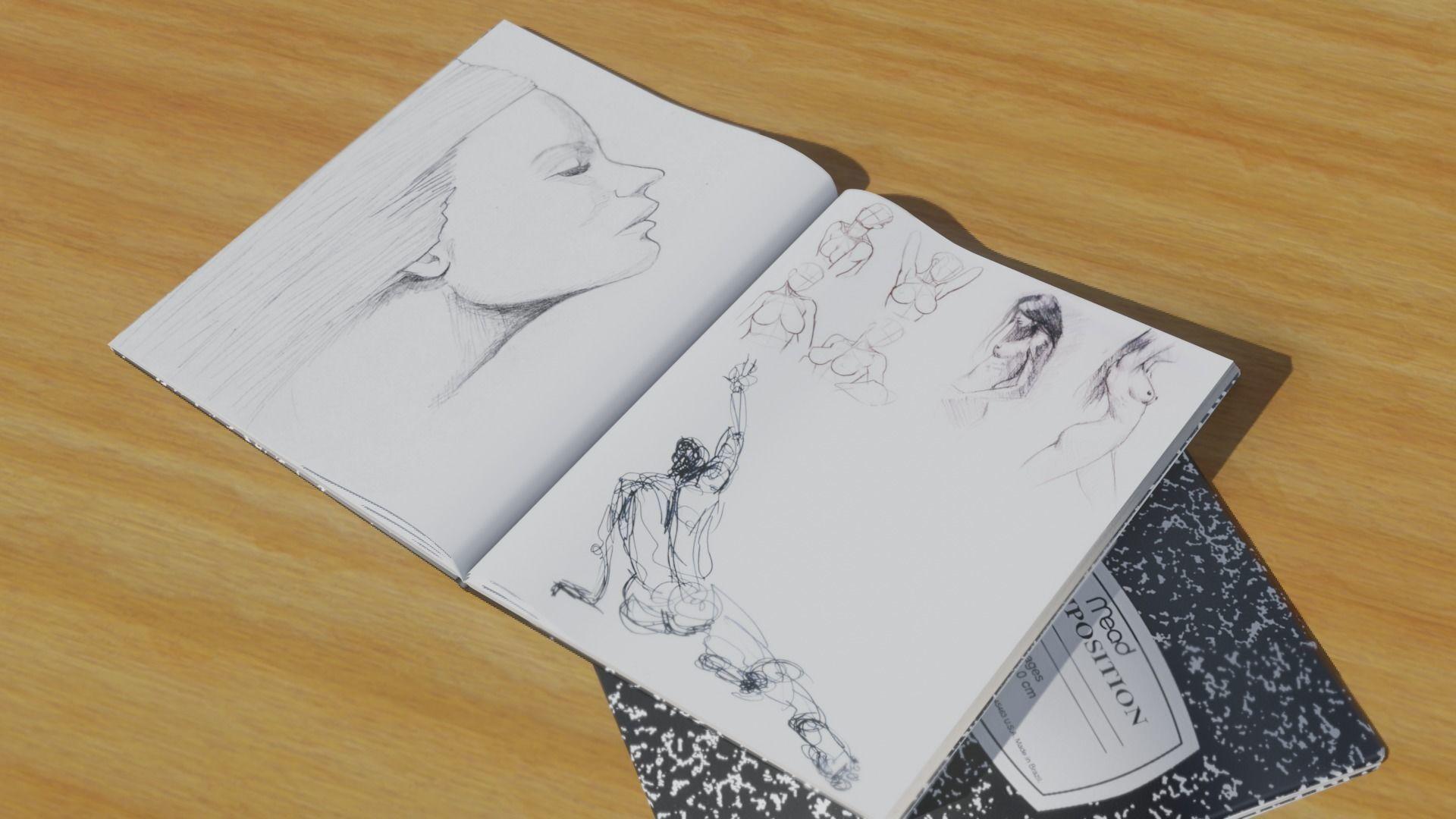 Drawing Book for Blender