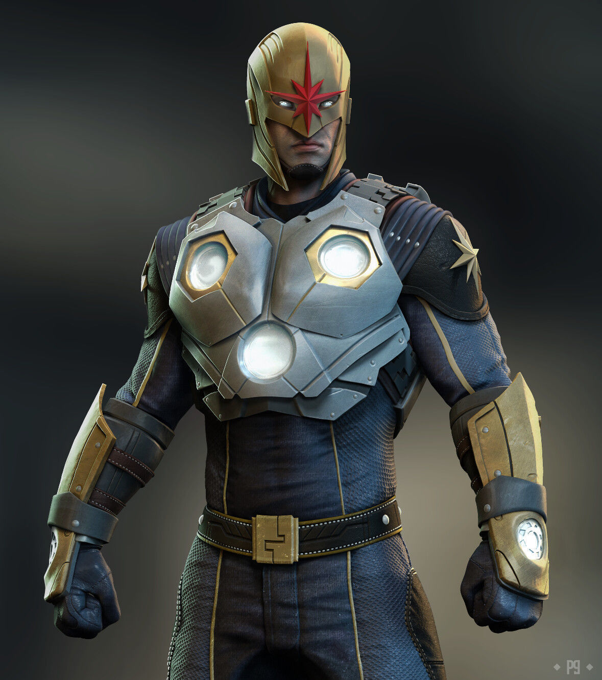 Nova Marvel Novacorp Spiderverse