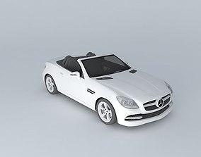 2012 Mercedes-Benz SLK350 R172 no roof 3D