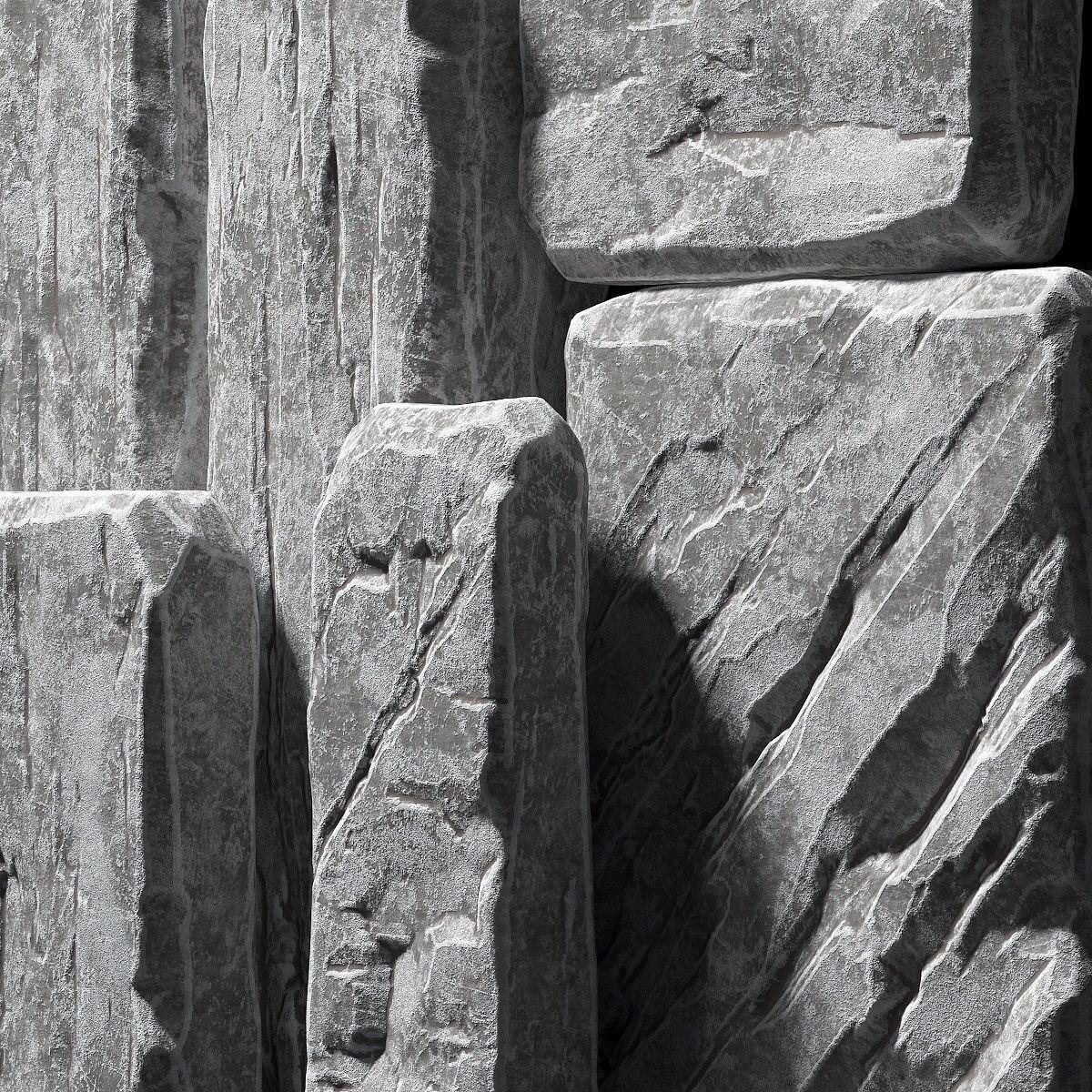 Slab stone rock big n1