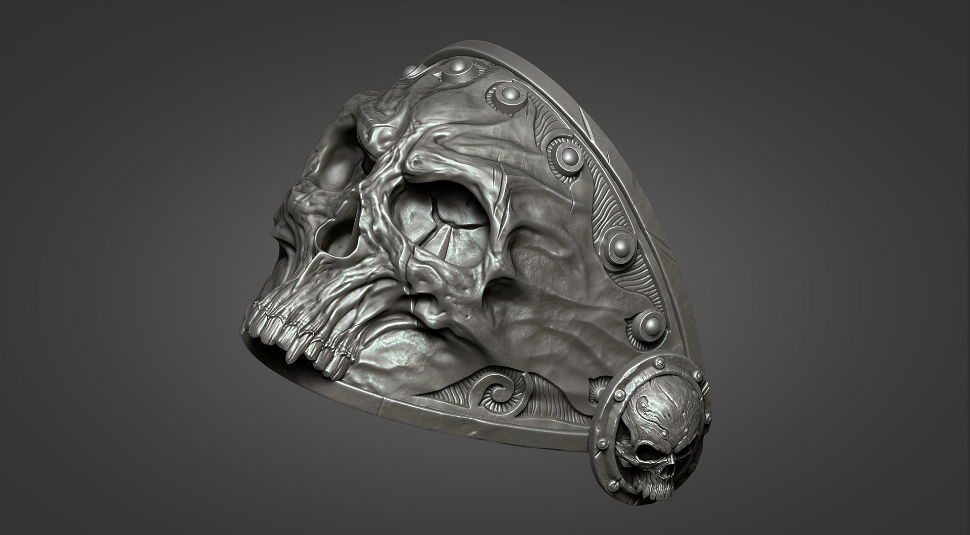 Lich King Armor - Right shoulder