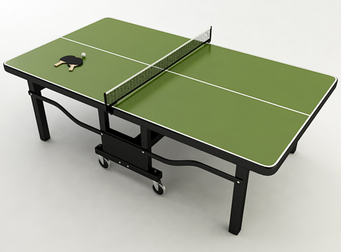 Ping Pong Table3D model