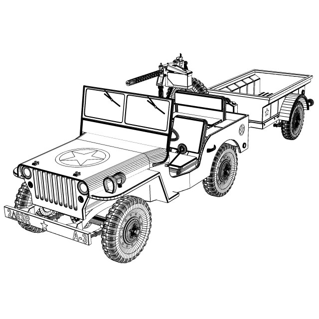 M38a1 Military Jeep