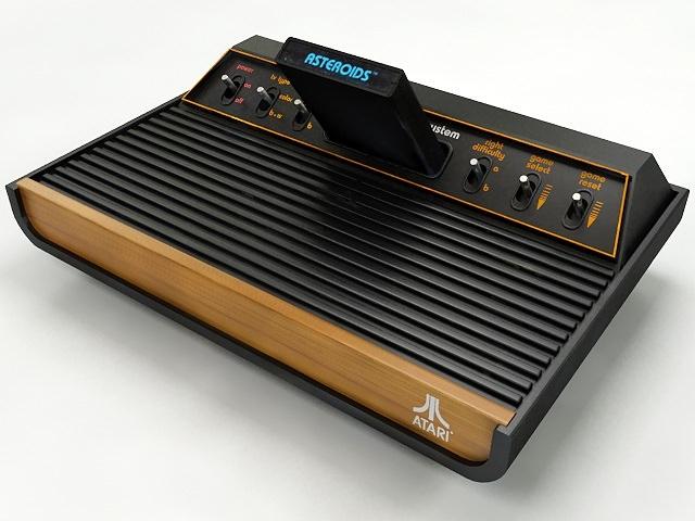 Atari 2600 VCS3D model