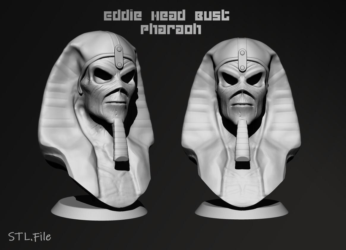 Eddie The Head  Pharaoh version