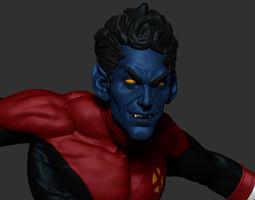 Nightcrawler 3D Model