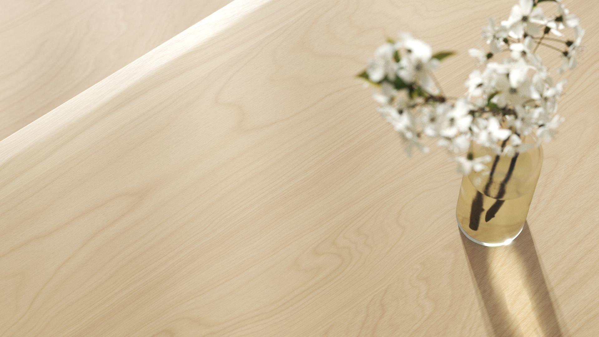 Maple wood veneer texture