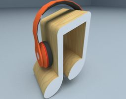 Headset stand 3D model