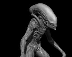 Alien runner 3D Model