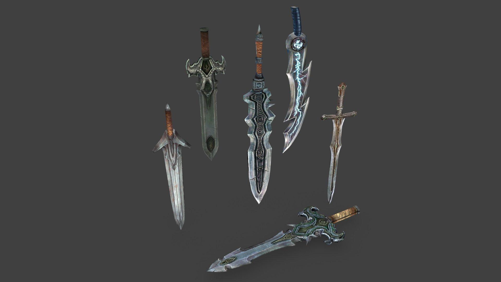 Medieval Swords Pack 1