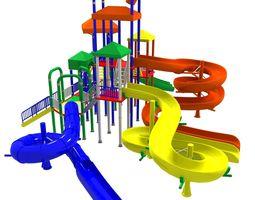 3D model Big Toys Playground