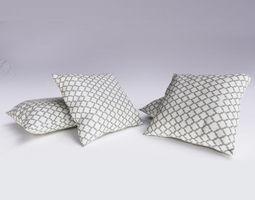 3D Contemporary Cushion