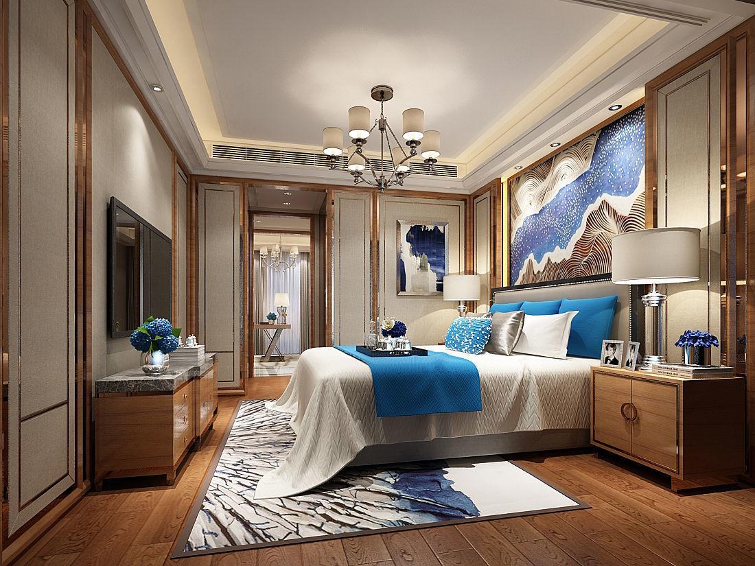 3D model Deluxe master bedroom design 64 | CGTrader on New Model Bedroom Design  id=49541