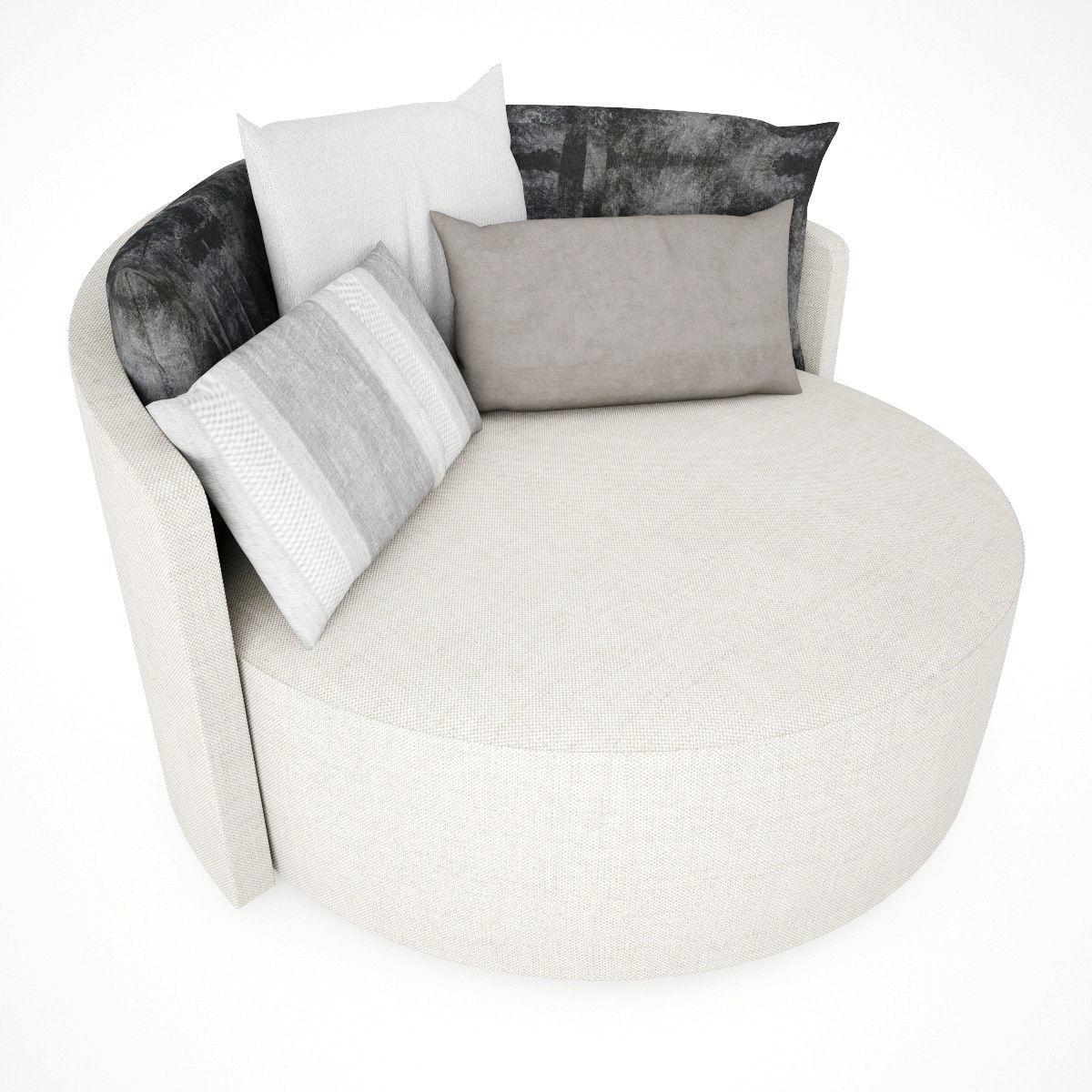 3D Design Single Sofa   CGTrader
