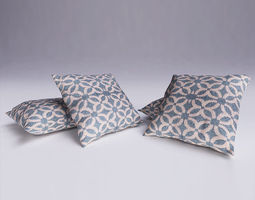 3D model 3dsmax Contemporary Cushion