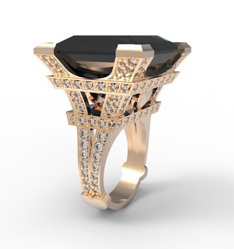 The Eiffel Tower ring