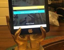 3D print model Hands Phone or Tablet Holder