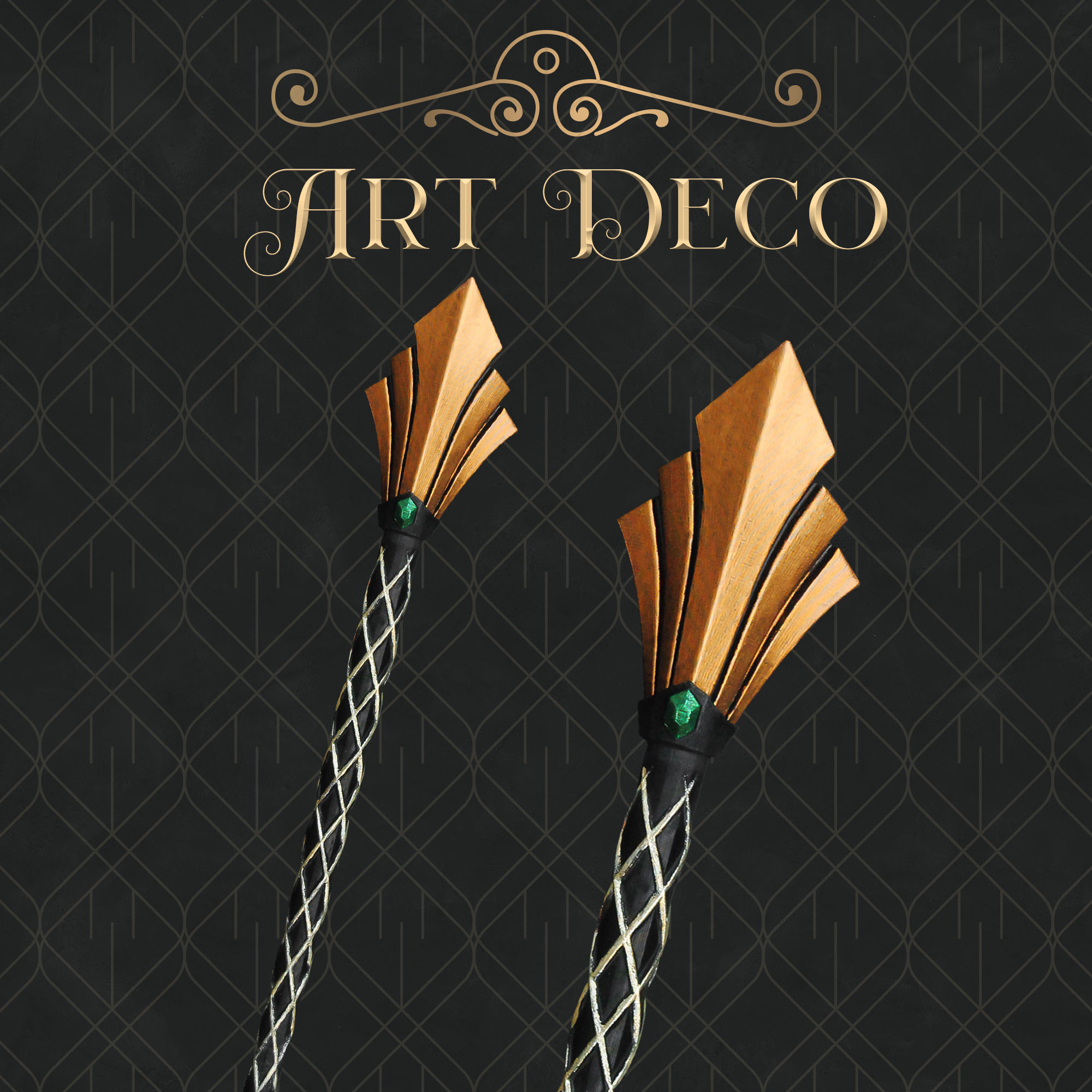 Art Deco Magic Wand - Harry Potter