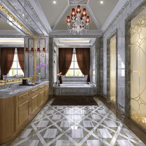Bathroom 3d model restroom cgtrader for New model bathroom
