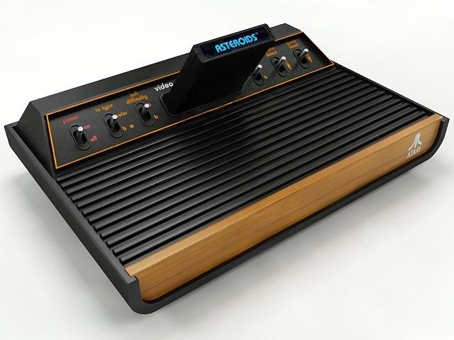 Atari 2600 VCS Collection3D model