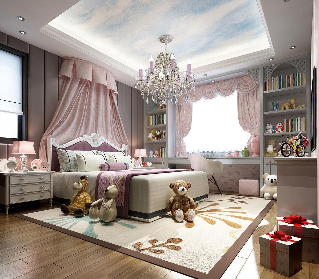 Deluxe master bedroom design 193 3D model | CGTrader on New Model Bedroom Design  id=49018