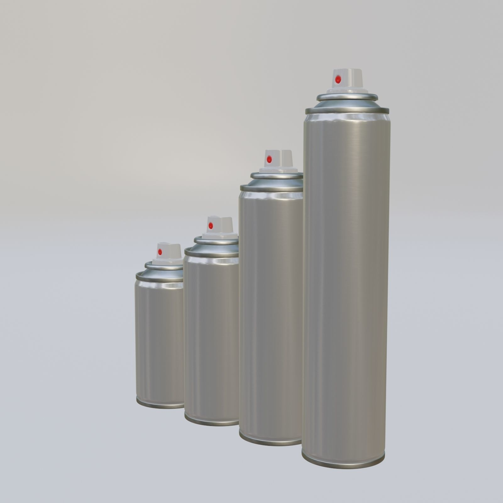 Spray can diameter 45mm