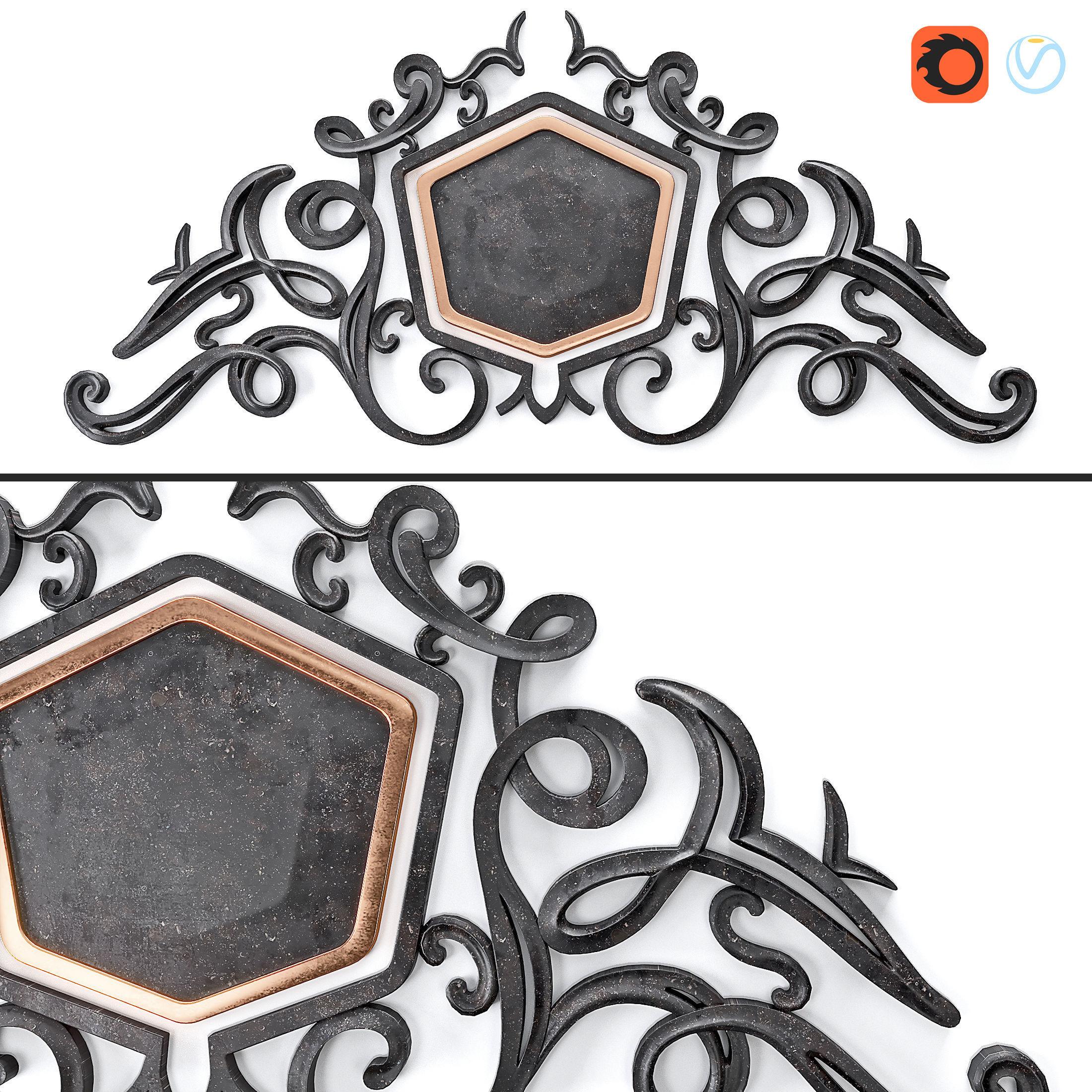Decor Lepnina Granat