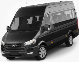 Hyundai H350 bus 2015 3D model
