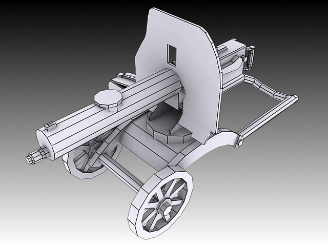 1910 Maxim Machine Gun