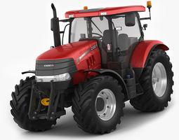 Case IH Puma Tractor 3D Model